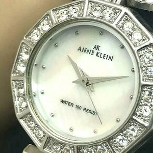 Anne Klein Women's 10/7983 Mother of Pearl Watch